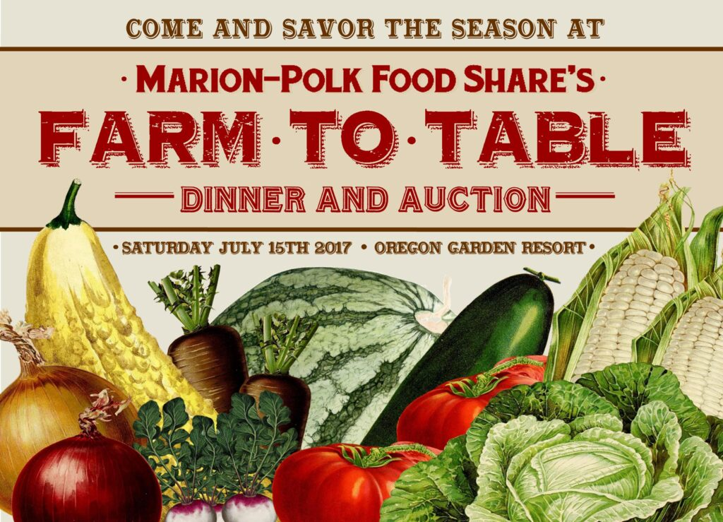 Savor the Season at the Farm to Table Dinner and Auction