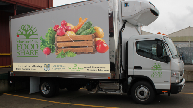 Marion-Polk Food Share truck