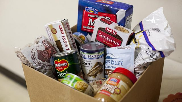Holiday Food and Fund Drives to Help the Community