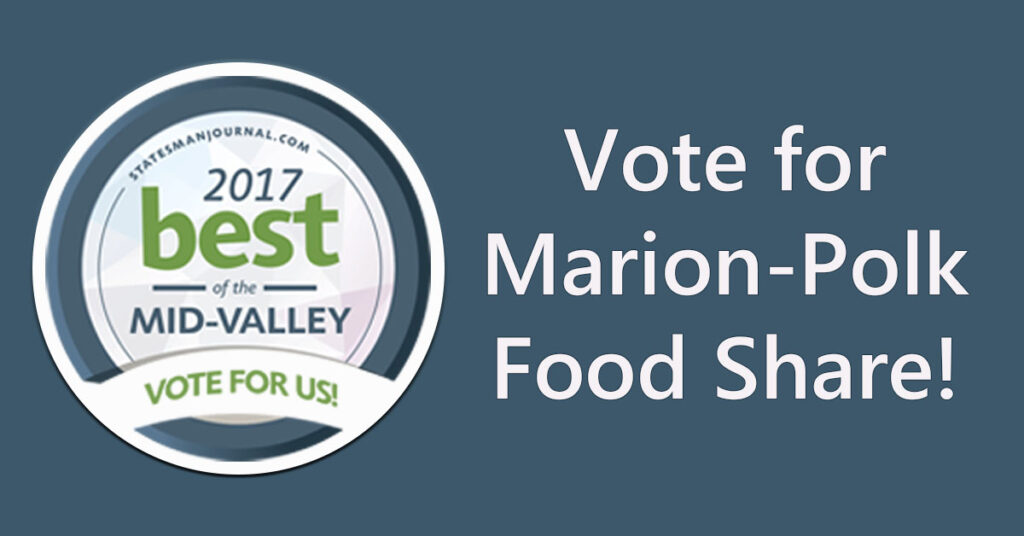Vote for Marion Polk Food Share
