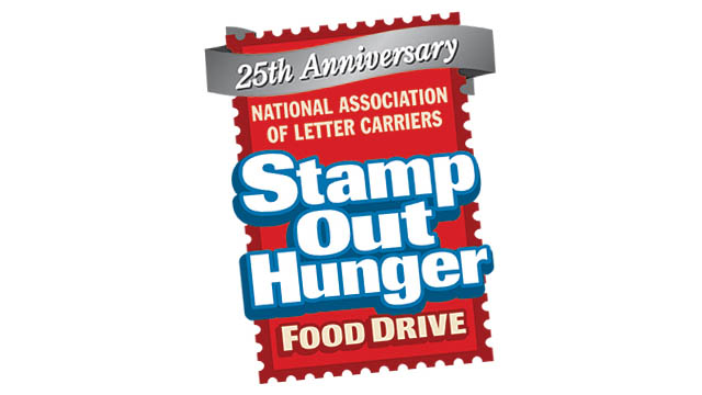 Give Food to Stamp Out Hunger on May 13