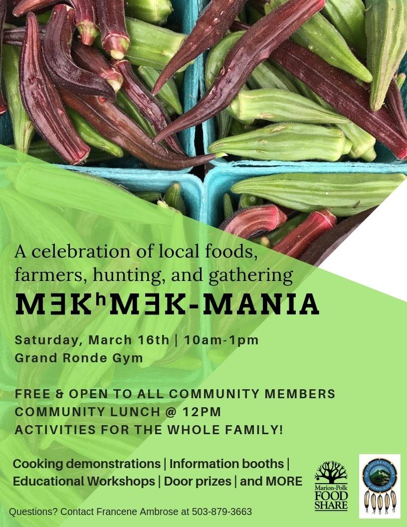 MǝkʰMǝk Mania - Marion Polk Food Share