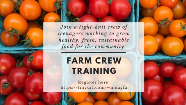 Farm Crew Training-Session Two