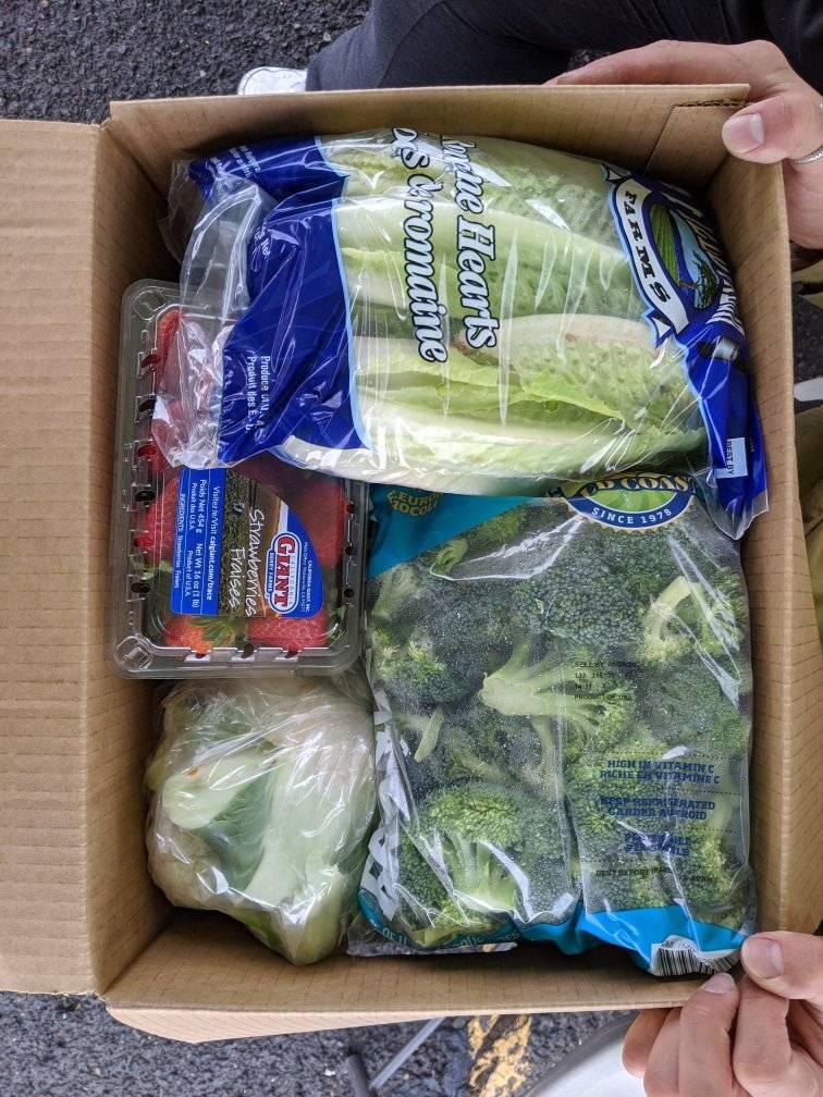 COVID-19 Relief Food Distribution - Marion Polk Food Share